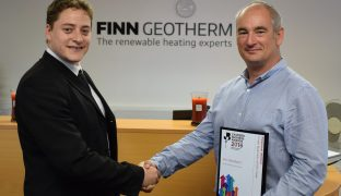 Finn Geotherm crowned small business of the year