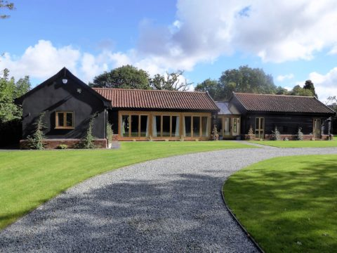 Barn conversion benefitting from low heating costs
