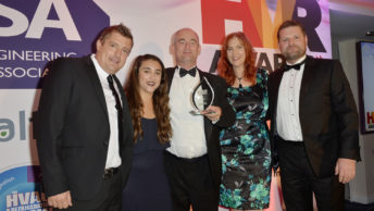 Finn Geotherm scoops national award for Flagship heating project