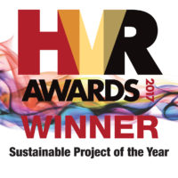 Heating & Ventilating Review (HVR) Awards 2017 – Sustainable Project of the Year – Winner