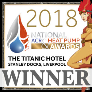 National ACR Heat Pump Awards 2018 winners logo