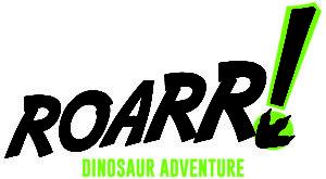Roarr dinosaur adventure park norwich logo