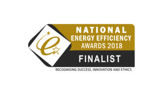 Shortlisted for top national energy efficiency award