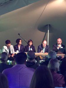 Panel debate at Big Tent Ideas Festival