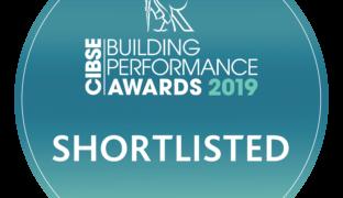 Finalist! CIBSE Building Performance Awards 2019