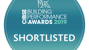 Finalist! CIBSE Building Performance Awards 2019