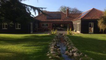 Air source adds to North Norfolk bungalow's green credentials