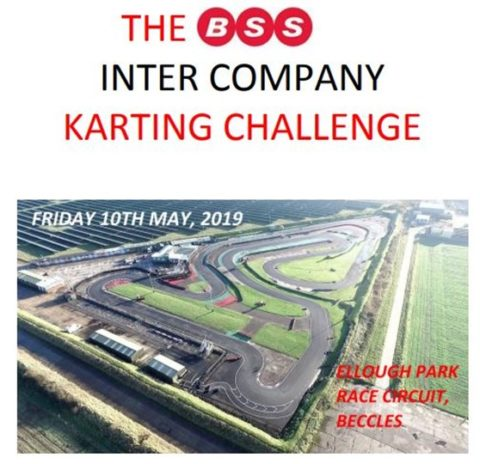 Start your engines! Finn Geotherm competing in BSS Inter-Company Charity Karting Cup