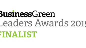 BusinessGreen Leaders Awards 2019 finalist!