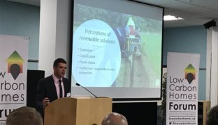 Finn Geotherm at Low Carbon Homes Forum
