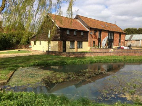 Benefits all round in barn conversion with renewable heating