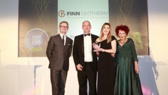 Winner! Finn Geotherm scoops national HVAC award