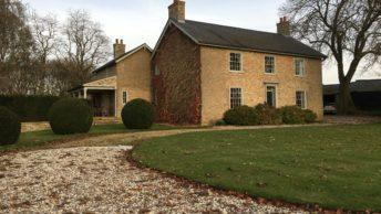 Renewable heating for carbon positive Cambridge farm