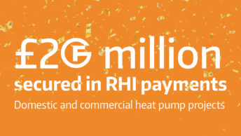 £20 million secured for Finn Geotherm customers through RHI scheme