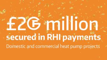 £20 million secured for Finn Geotherm customers through RHI scheme