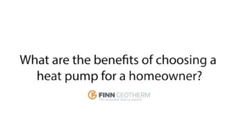 The benefits of heat pumps