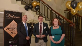 Budding Young Businessman Scoops Two Top Apprenticeship Awards